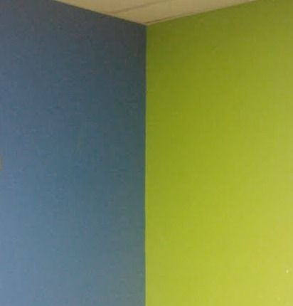 dark blue and green walls - Google Search Decorating 504 Grand