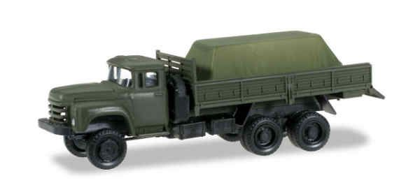 1/87 Fertigmodell ZIL 133 Gya Pritschen LKW mit Ladung, Herpa, 745260
