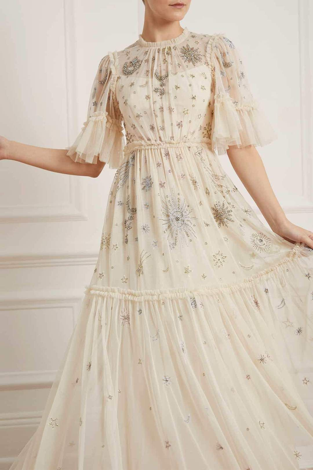 HS20 New Season Ether Gown in Champagne