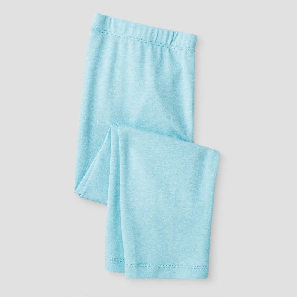 Girls' Capri Legging Pant Cat & Jack - Light Blue Xxl, Girl's ...