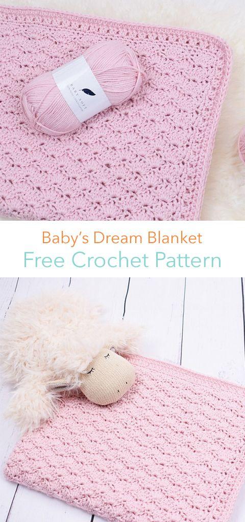 Baby\'s Dream Blanket Free Crochet Pattern | Blankets | Pinterest ...
