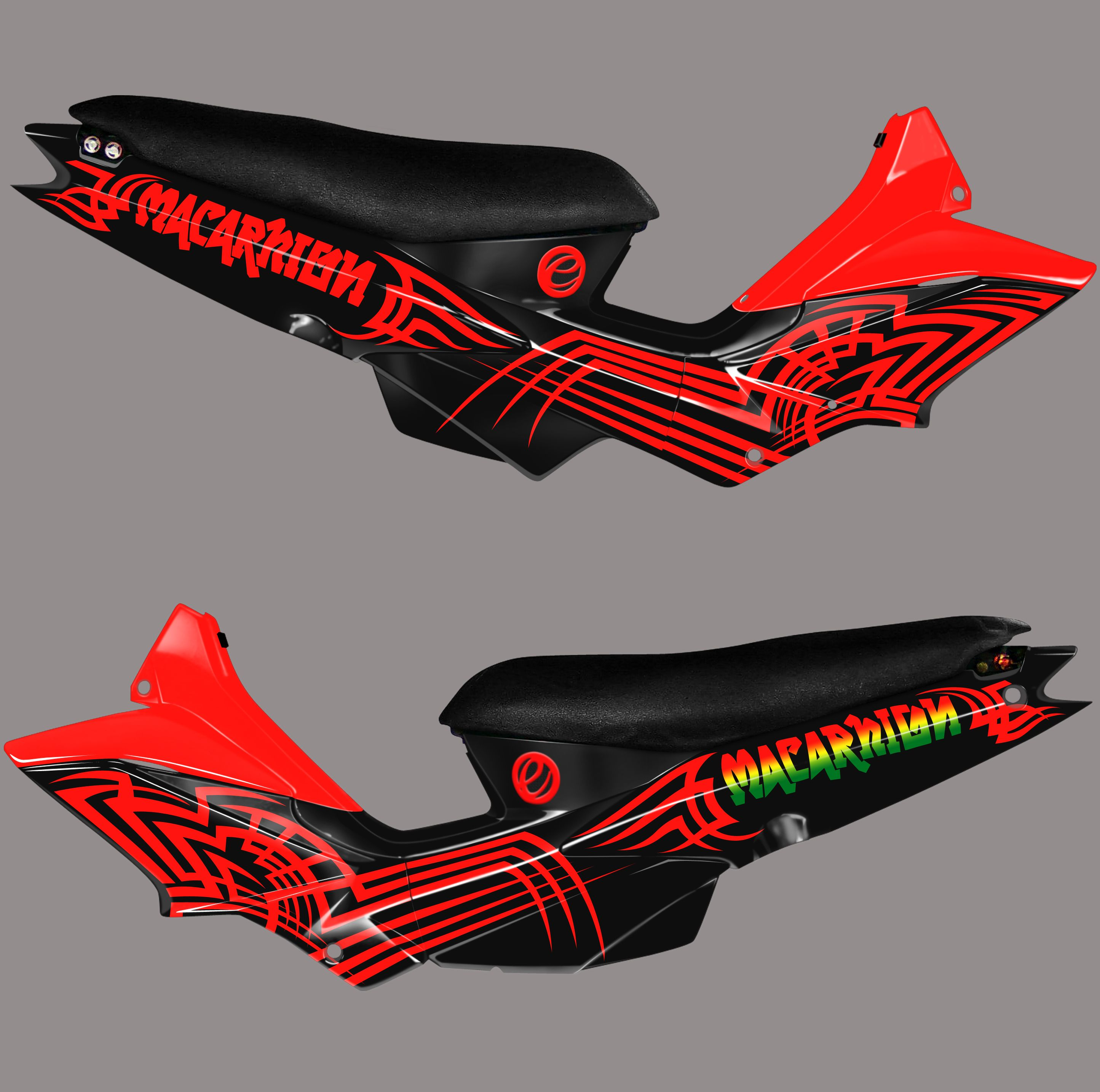 Motard Xrm 125 Best Sticker Disgn Custom Sticker