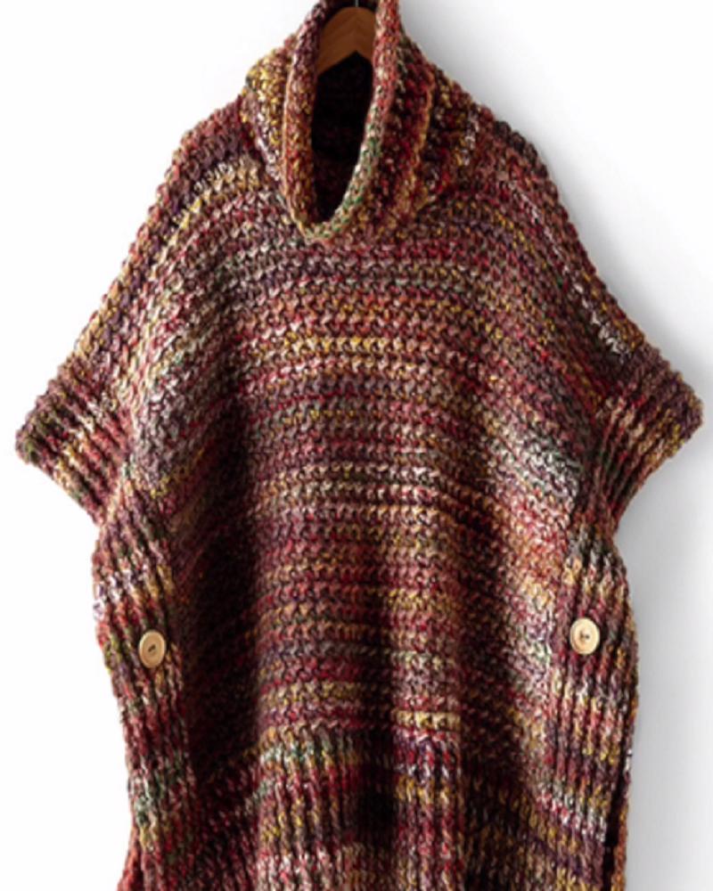 Tutorial: crochet poncho | sewchet.