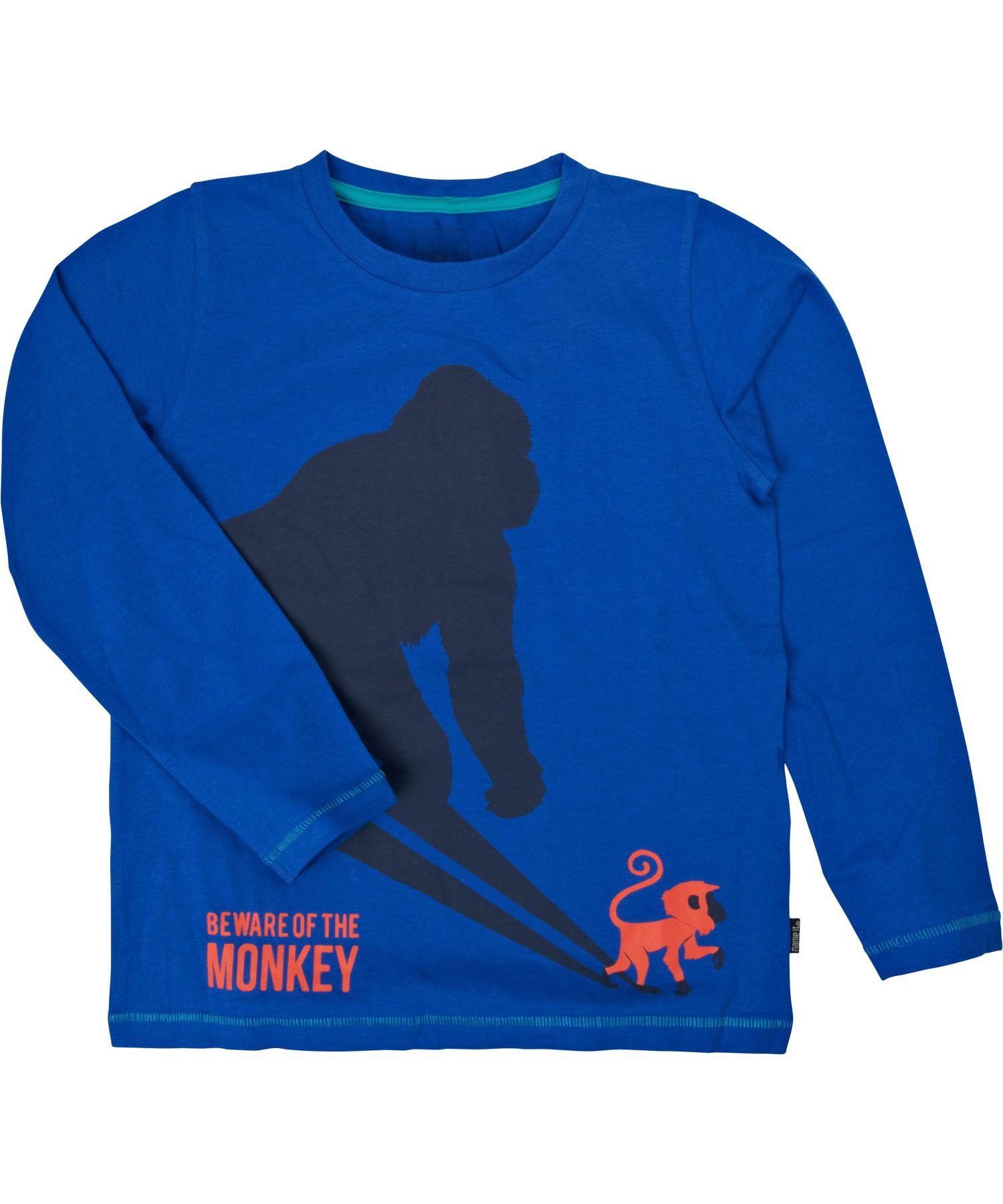 Name It super wijze blauwe t-shirt met gorilla #emilea