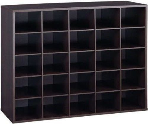 Closet Shoe Organizer Storage Cabinet Cube, 25 Pair Floor Cubby   Espresso  | Home Organization | Pinterest | Shoes Organizer, Storage Cabinets And  Espresso