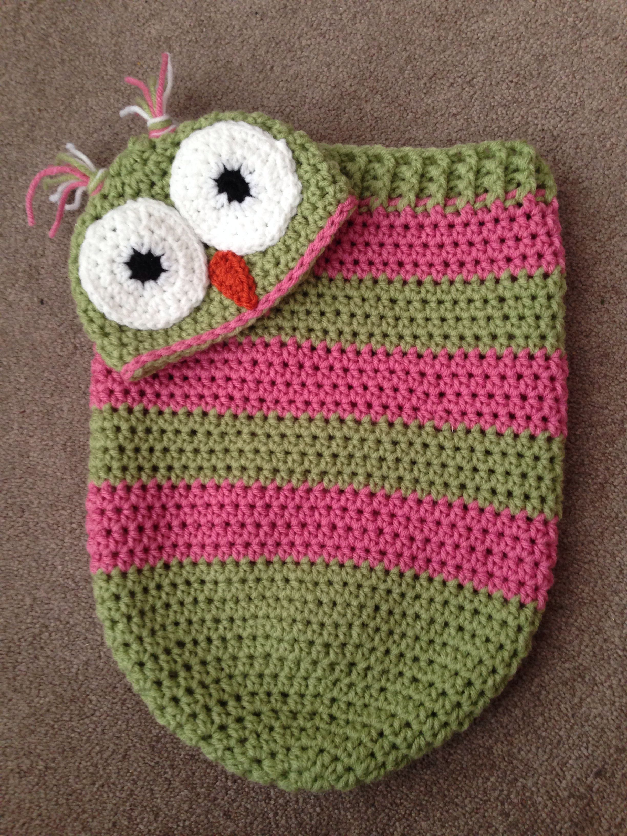 Baby girl Owl Sleep Sack. | baby cocoon | Pinterest
