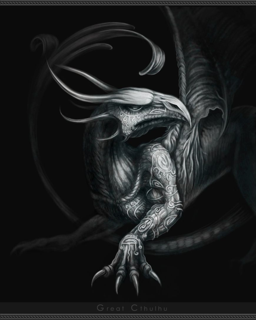 White Dragon by ~Cthulhu-Great on deviantART
