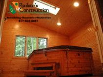 Wonderful Addition As A Hot Tub Room Warm Knotty Pine And Special Ventilation Considerations Make This A Favorite Ro Hot Tub Room Room Additions Large Windows