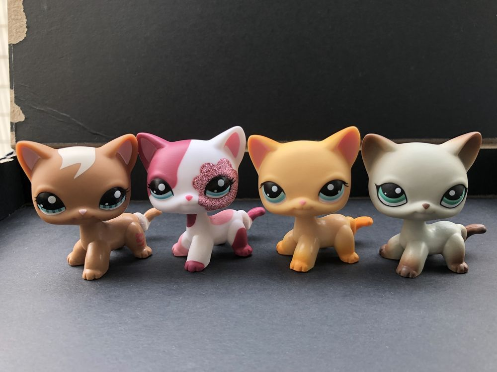 Find Many Great New Used Options And Get The Best Deals For 3pcs Littlest Pet Shop Lps Short Hair Cat 391 339 1170 Loose Toys Little Pets Lps Pets Pet Shop