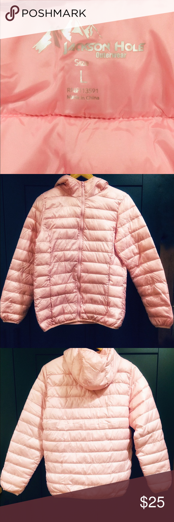Light Weight Pink Puff Jacket Ladies Jackets For Women Lady Jackets [ 1740 x 580 Pixel ]