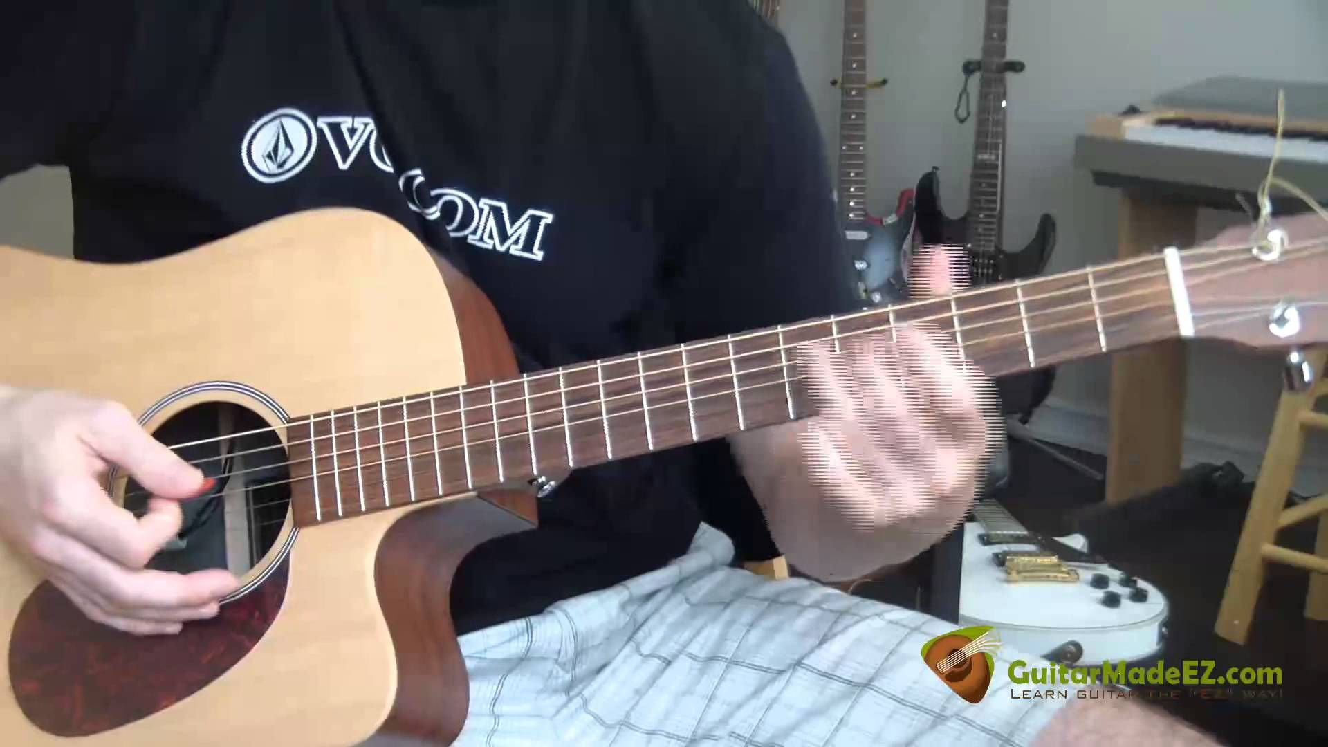 The Eagles Tequila Sunrise Guitar Lesson Correct Guitar Chords