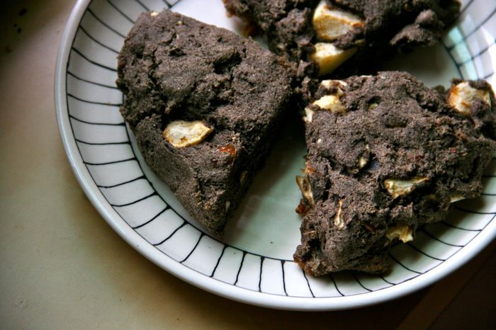 buckwheat scones
