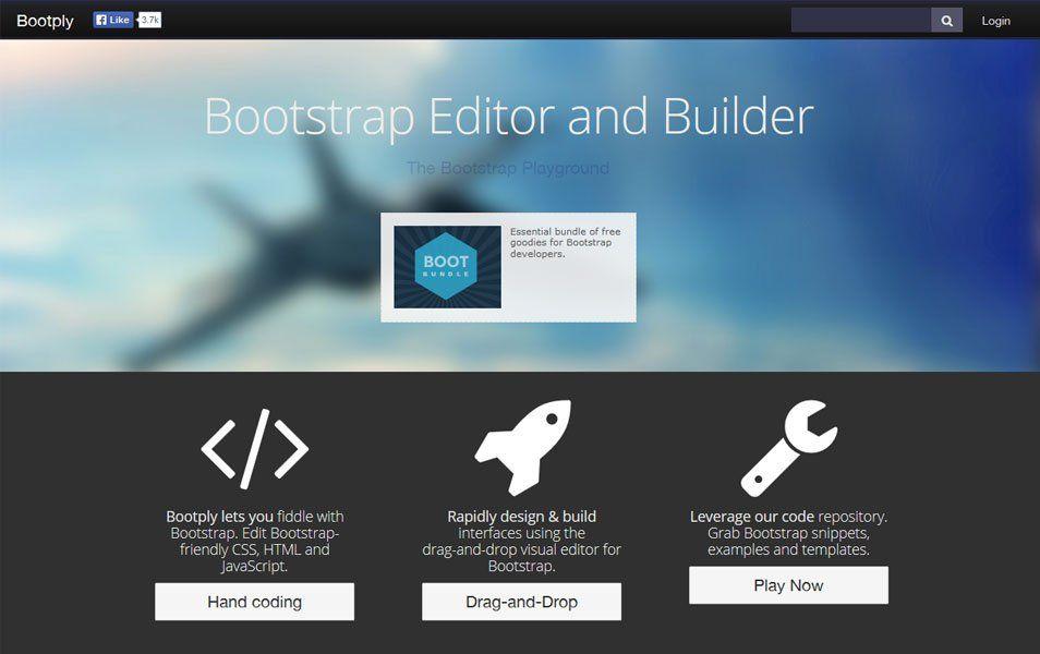 20 Best Bootstrap Editor and Builder | web development | Web