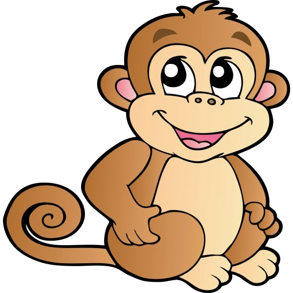 Funny baby monkeys cartoon clip art images on a transparent funny baby monkeys cartoon clip art images on a transparent background voltagebd Choice Image