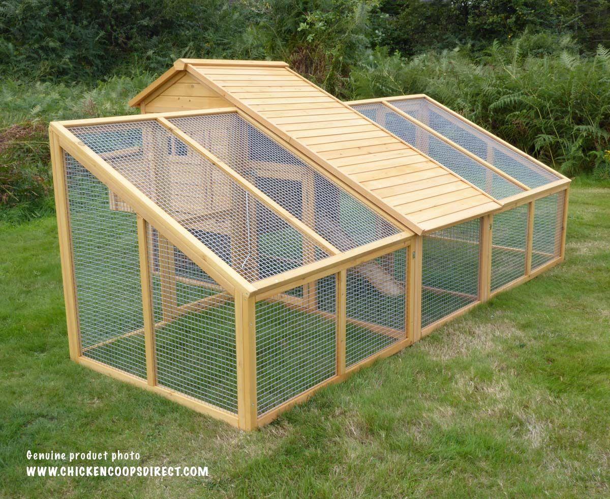 Pin Di Gallineros Backyard free range chicken house design