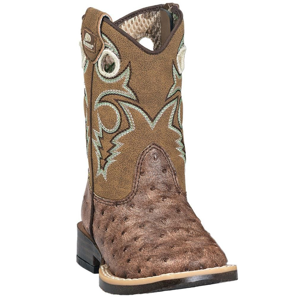 53907c600ad Brant Ostrich Print Boots - Brown / Boy's / 4 US Toddler-M | Fila ...