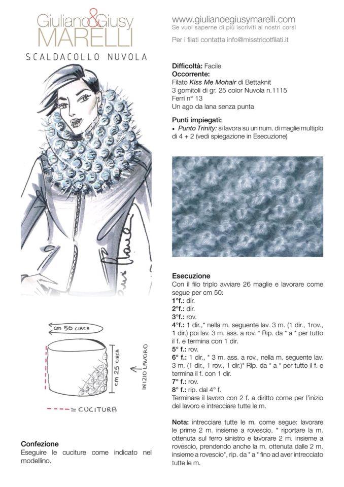 Pin de Cristina en Lana | Pinterest | Cuellos tejidos