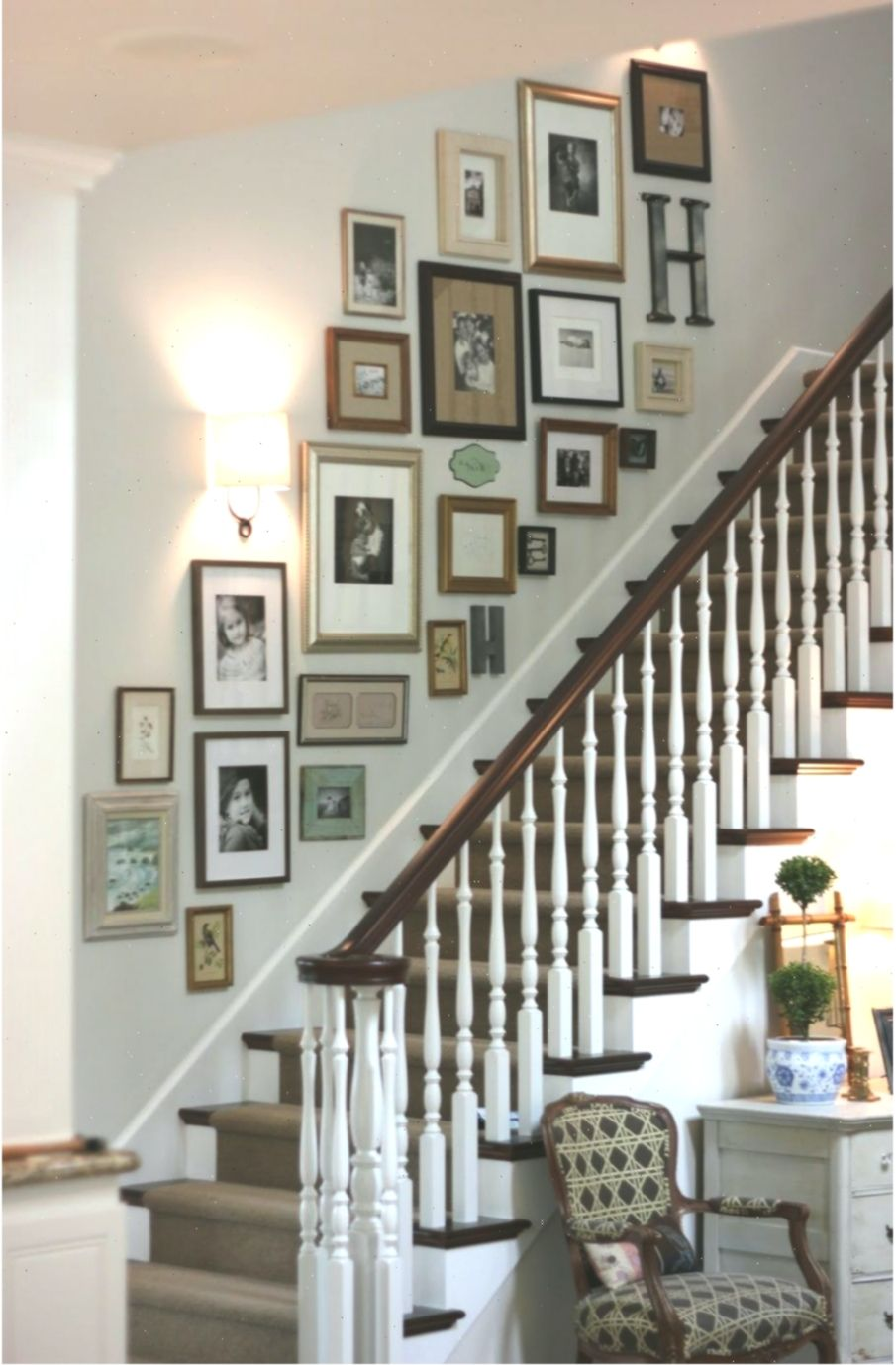 treppe dekorieren