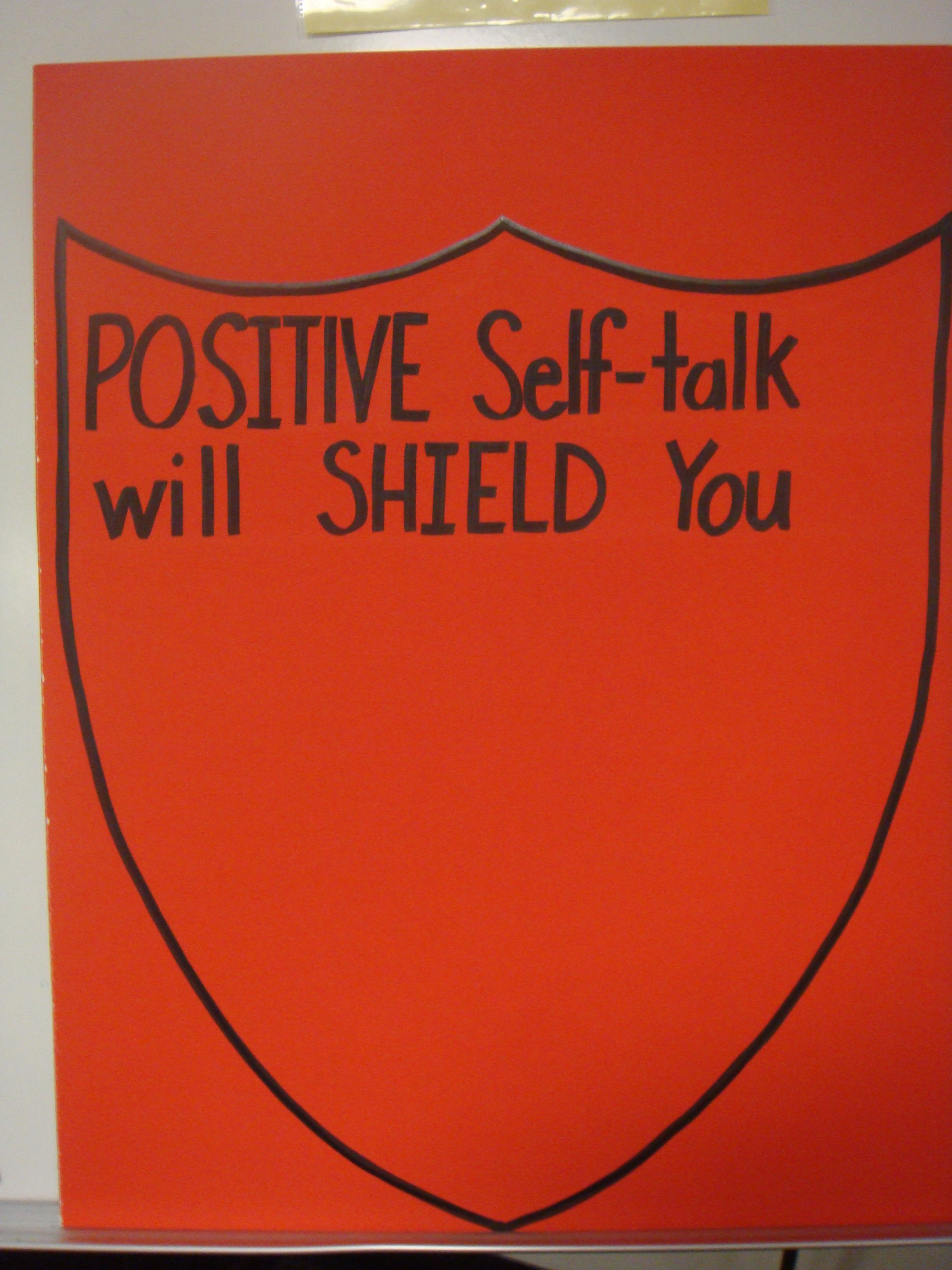 Positive Self Talk Ojectcornerstone Bullying