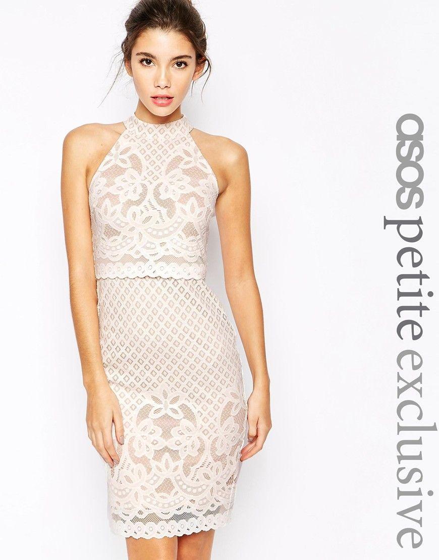 Little White Dress // Aisle Perfect ASOS PETITE Body-Conscious ...