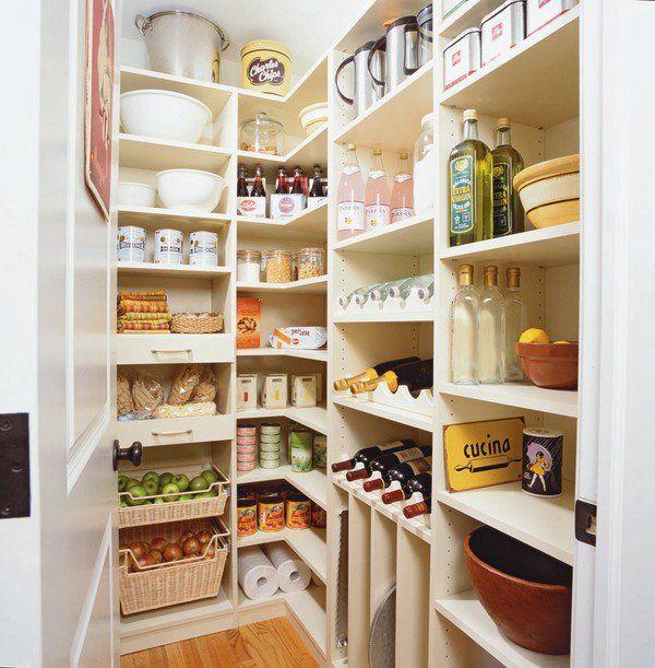 kitchen food pantry ideas pantry organization baskets corner pantry