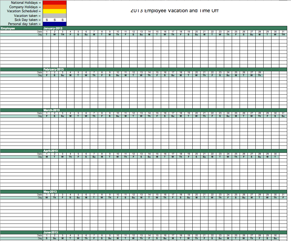 Timesheet Tracker Template Google Search Excel Calendar Template Vacation Calendar Excel Calendar