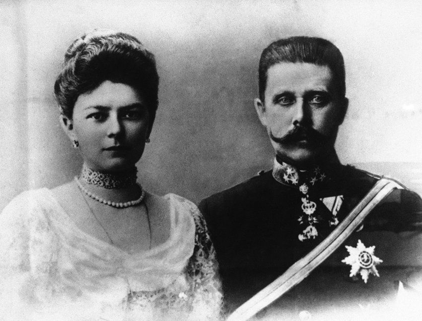 Kronprinz Franz Ferdinand Und Seine Gattin Sophie Erzherzog Franz Ferdinand Spiegel Online Ungarn