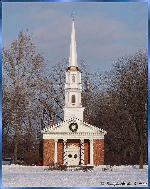 Martha Mary Chapel Greenfield Village Dearborn Mi Chapel Village Church