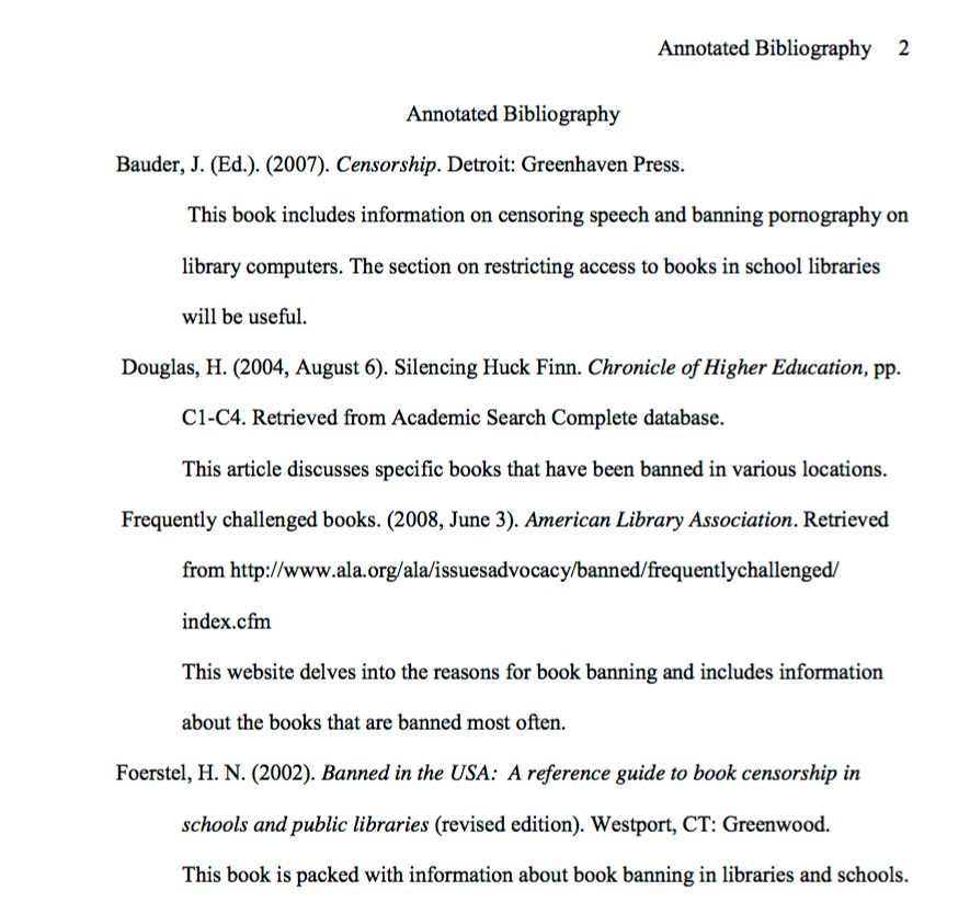 Definition And Examples Apa Style Annotated Bibliography Libguides At Monr Annotated Bibliography Annotated Bibliography Apa Annotated Bibliography Example