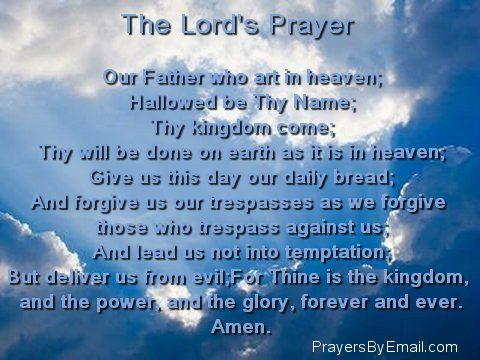 kingdom come how to pray in church