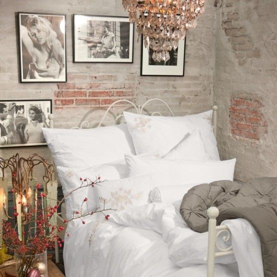 Impressive Bedrooms With Brick Walls DigsDigs Bedroom - 65 impressive bedrooms with brick walls