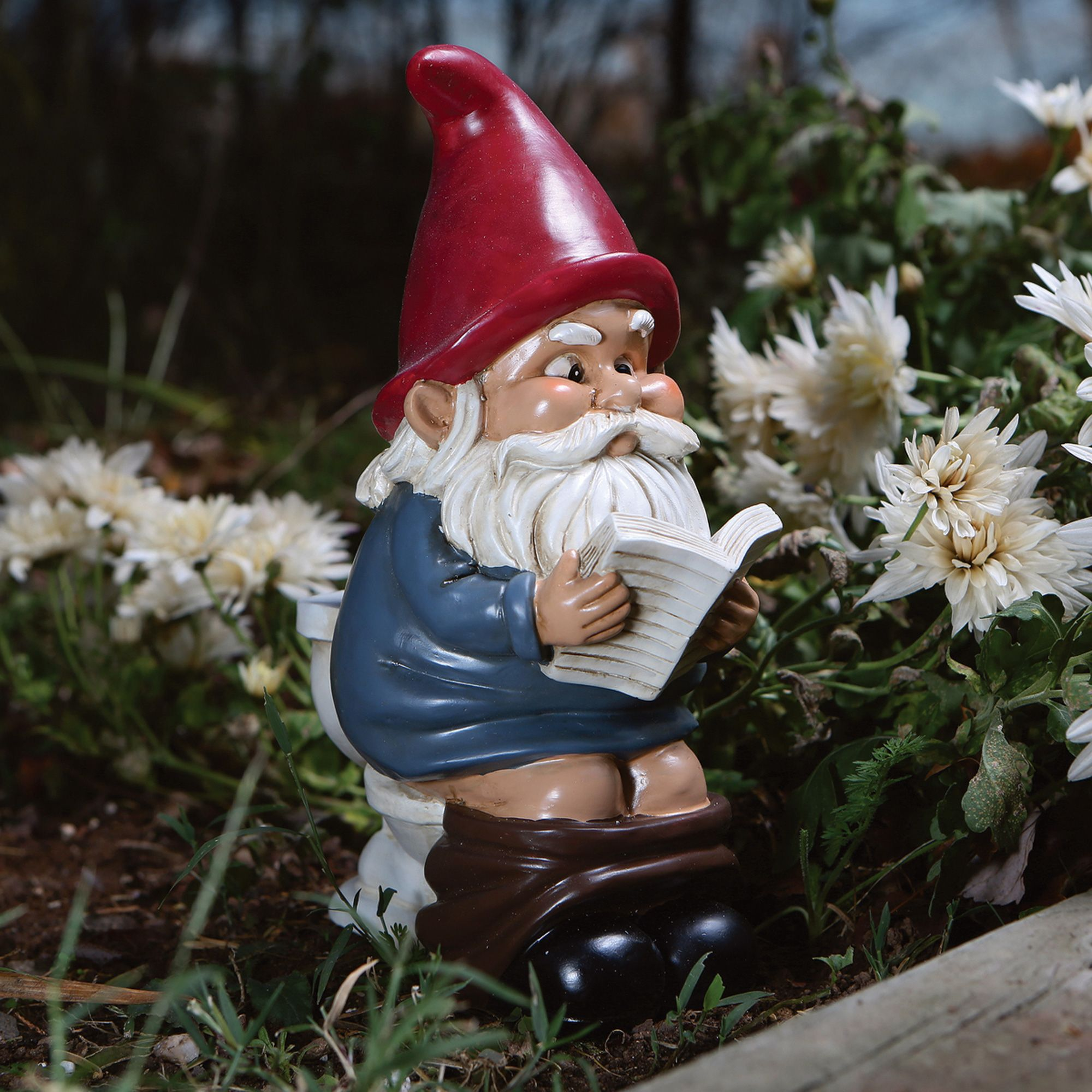 Load Of Garden Gnome Throne Mother'