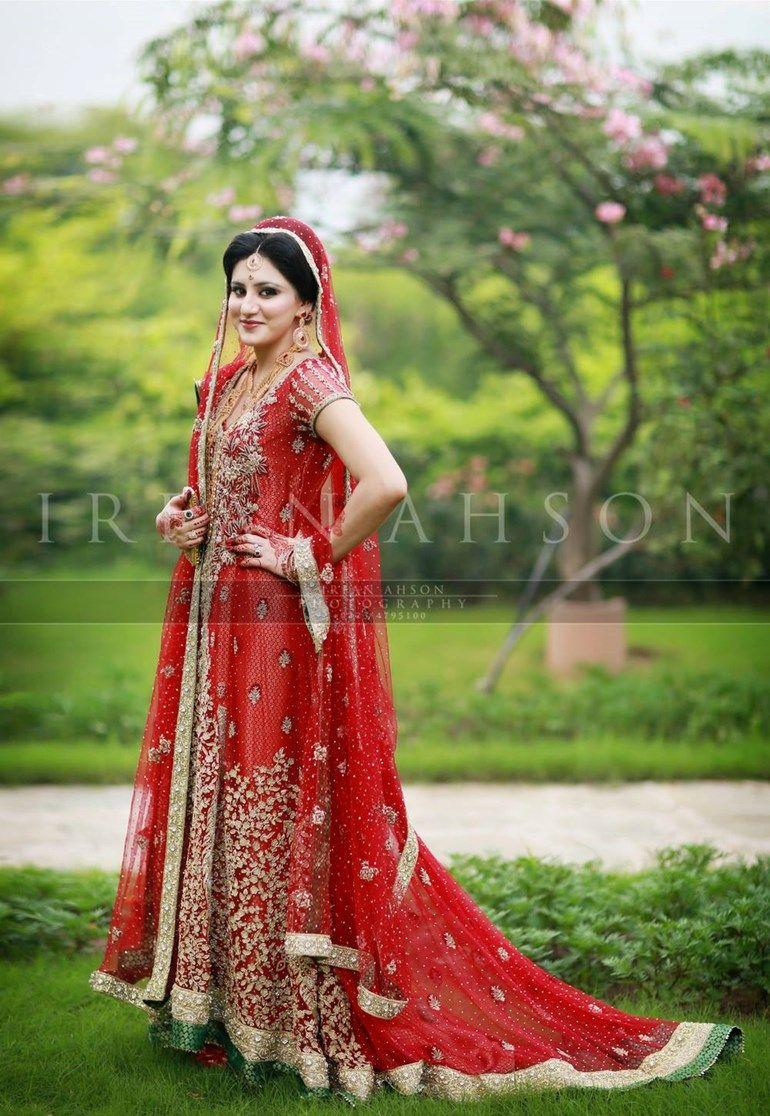 Irfan ahson travels for wedding photography - Beautiful Muslim Bride In A Red Wedding Dress Irfan Ahson Photography