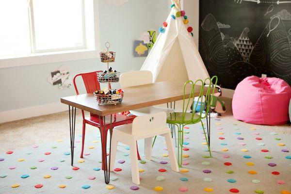 6th Street Design School   Kirsten Krason Interiors : Our Land of Nod Playroom -- RUG