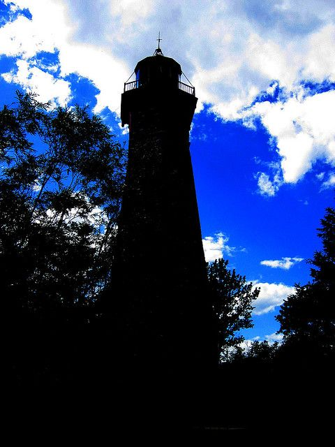 Lighthouse Silhouette by ash2276, via Flickr