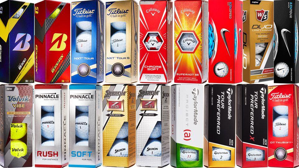 New Golf Balls for 2016