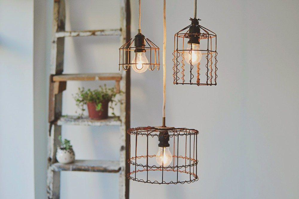 Curso de lámparas de estilo industrial Principal and Mesas