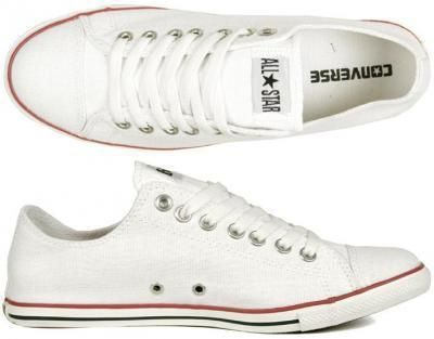 a8ca2a1c7c3cf Converse Schuhe Chucks All Star Slim Ox white weiss Canvas Gr 41 5 ...