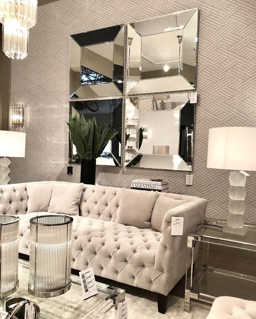 28abc11d Mirror Domenico tilgjengelig i nettbutikken nå ✨ #mirror #speil #eichholtz # decor #dekor #dekorasjondecoration #glam #furnituren #møbler #stue  #livingroom ...