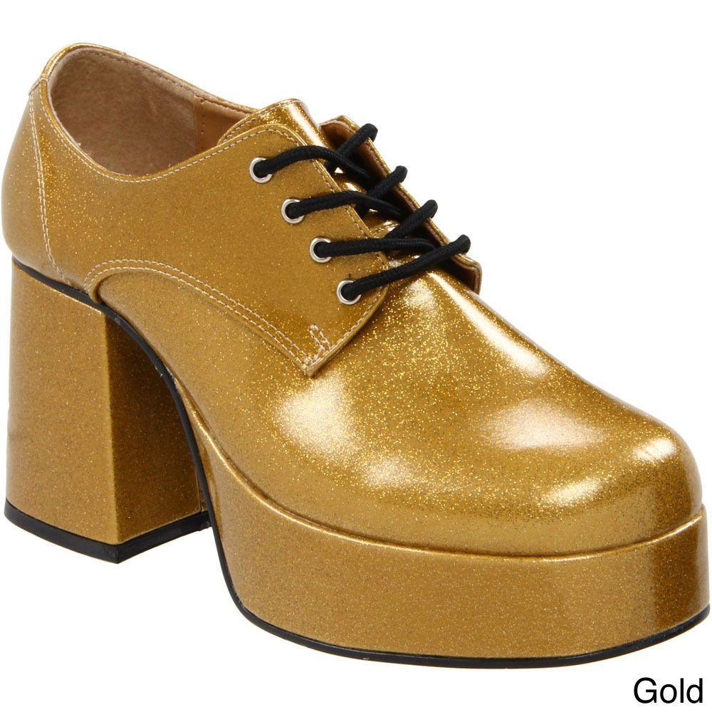0377857648c Funtasma Men s  Jazz-02G  Platform Lace-up Disco Shoes