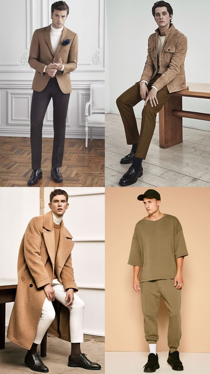 Men's AW16 Fashion Trend: Earth Tones forecasting