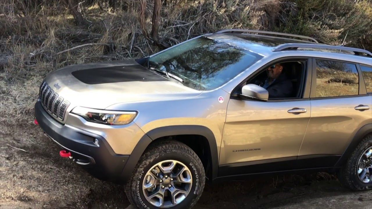 2019 Jeep Cherokee Trailhawk Off Road Youtube Jeep Cherokee