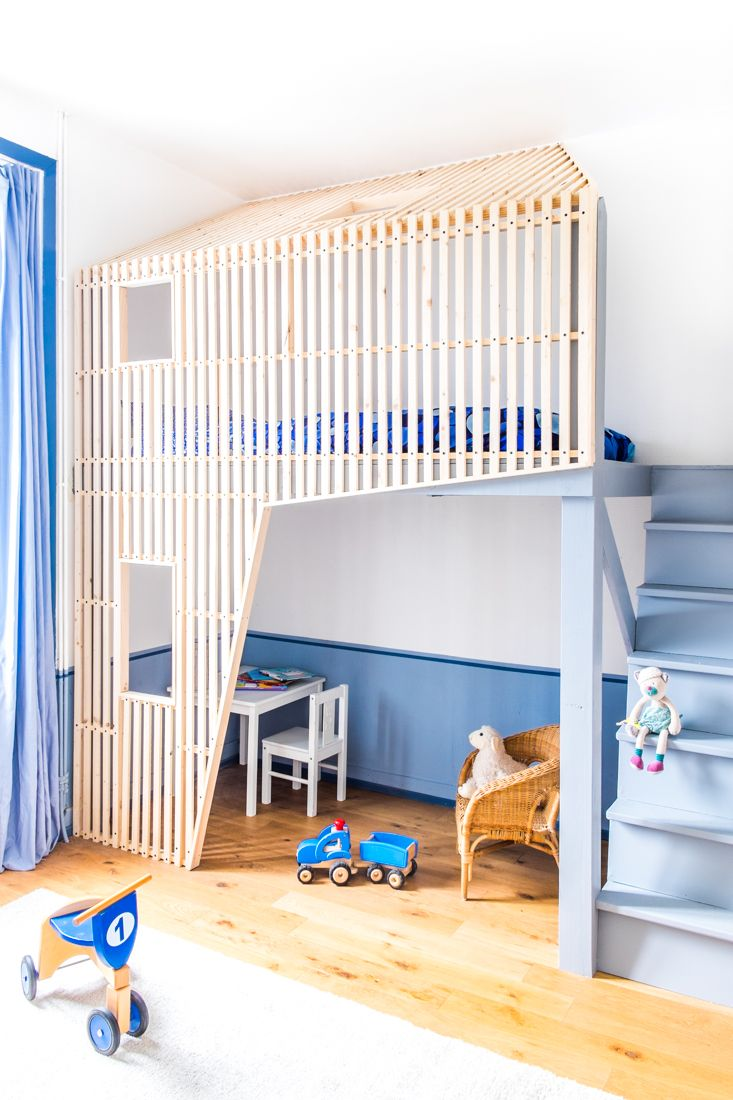 Ideas and inspiration for kids decorating with stuva petit amp small - 9 Amazing Blue Kid S Rooms