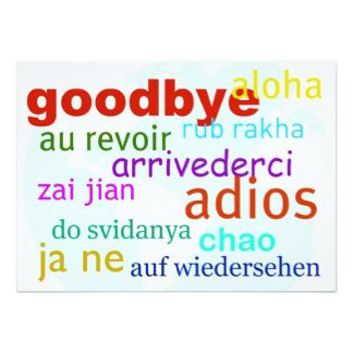 goodbye templates