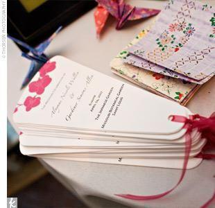 Cute Fan Idea DIY Wedding InvitationsPrograms And More