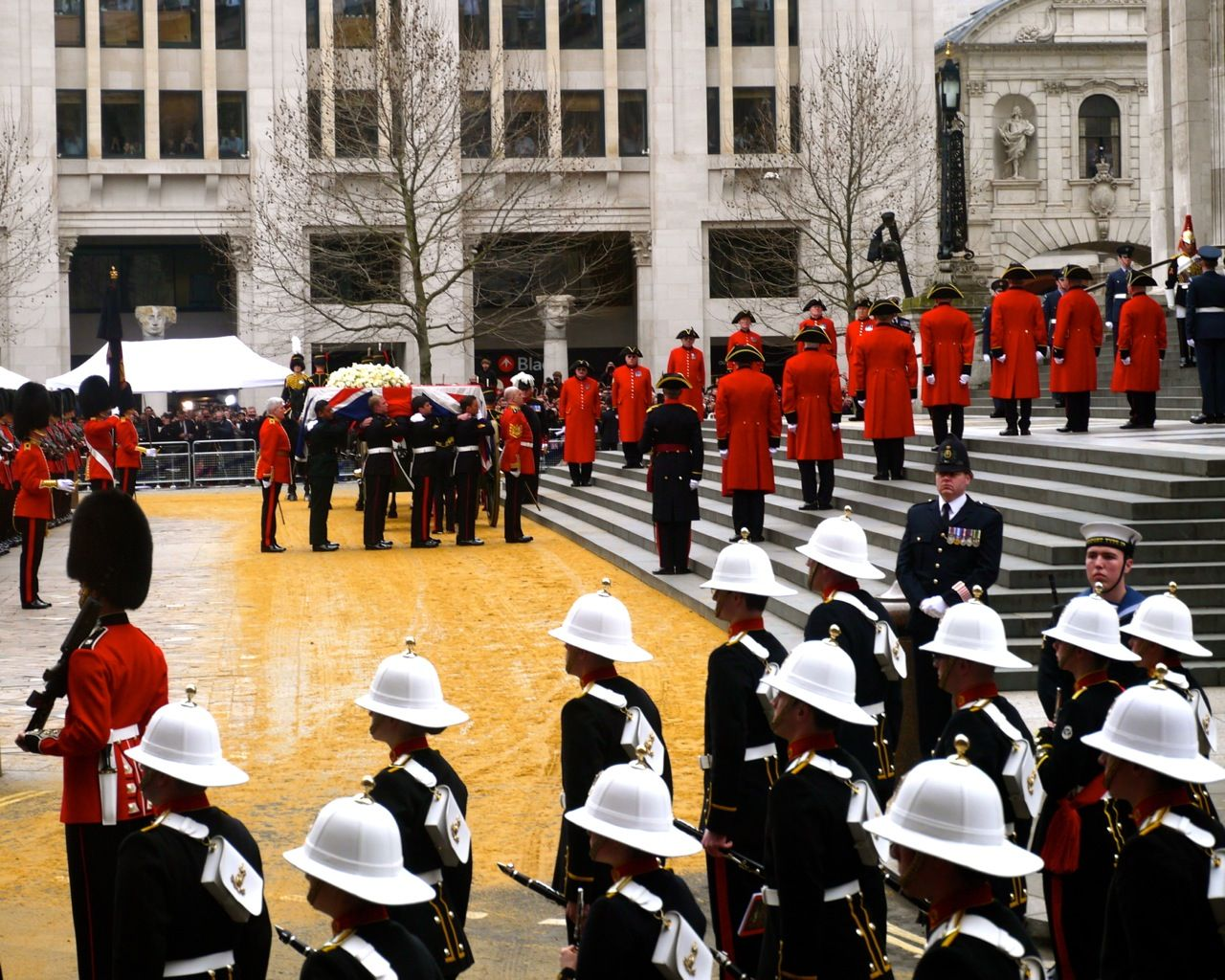 Margaret Thatcher Funeral Service St Pauls Cathedral, City