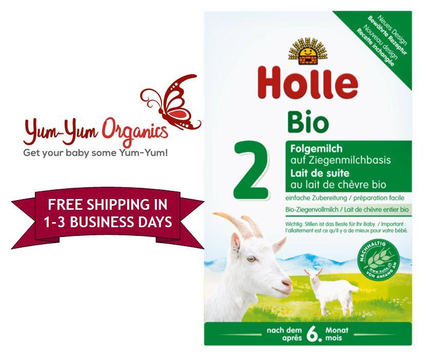Organic Holle Baby Formula Goat Milk Stage 2 6 10months Organic Baby Formula