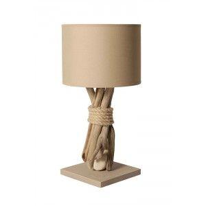 Éclairage Taupe Lampe Bois Chevet Poser À FlottéDeco De HIDE2W9