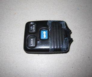 Repair A Broken Key Attachment On A Remote Entry Keyfob Car Key