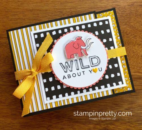 Stampin Up Pieces Patterns Dinosaur Juvenile Birthday Card Idea – Stampin Up Birthday Card Ideas